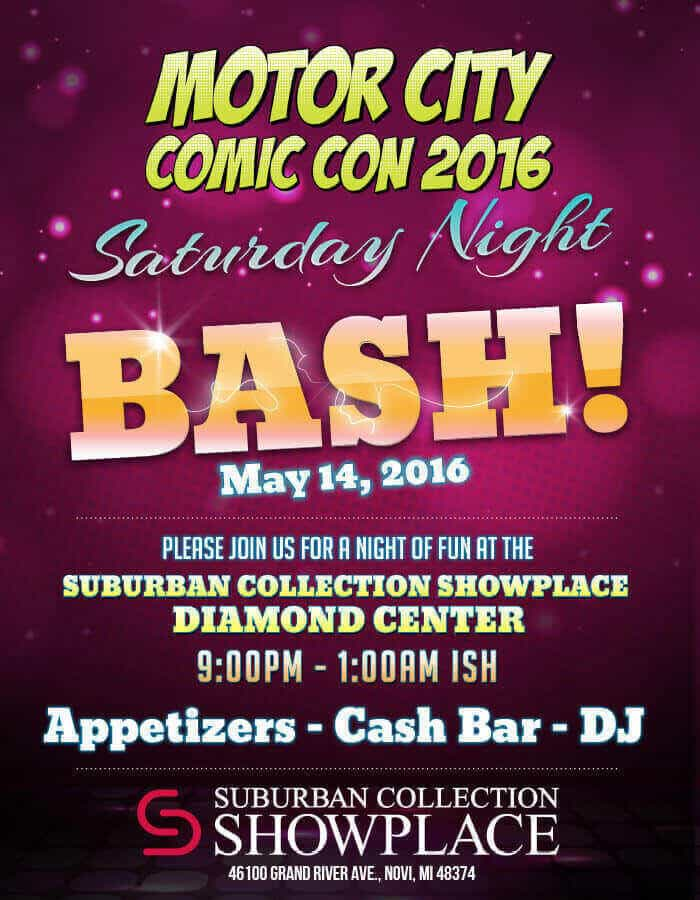 Motor City Comic Con BASH