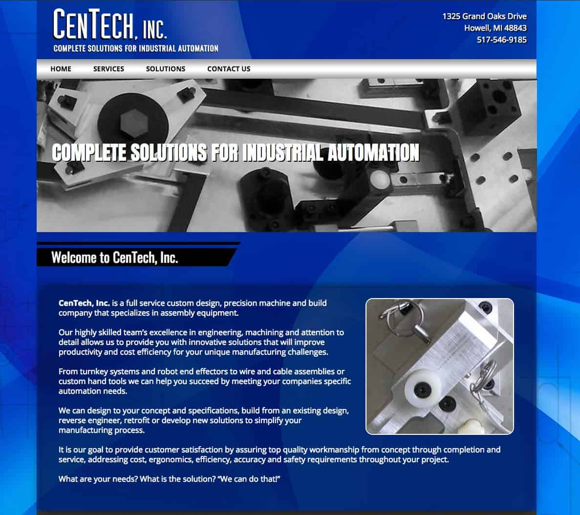Centech Website Design