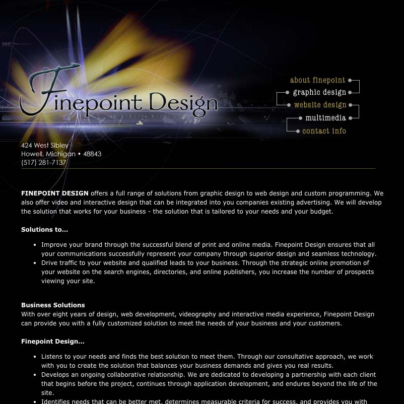 Finepoint Design 2004