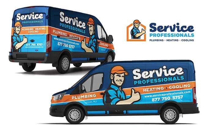 plumbing company branding