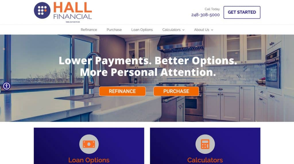 david hall mortgage
