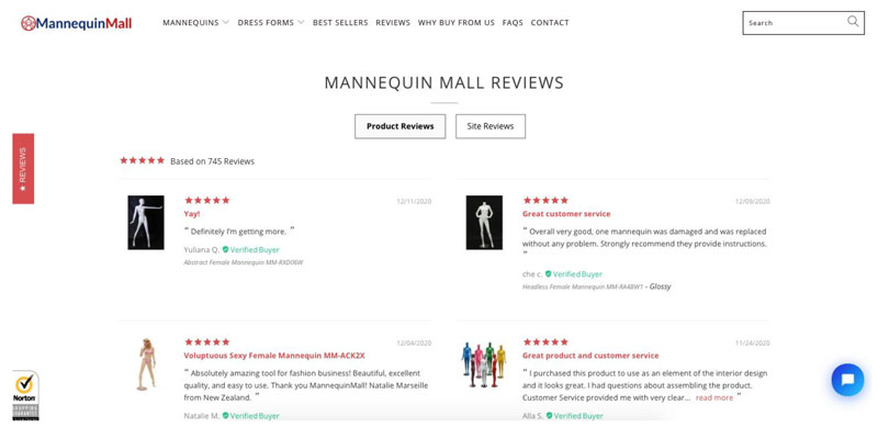 Mannequin Mall - How to Build Rock-Solid Social Proof to Increase Web Conversions
