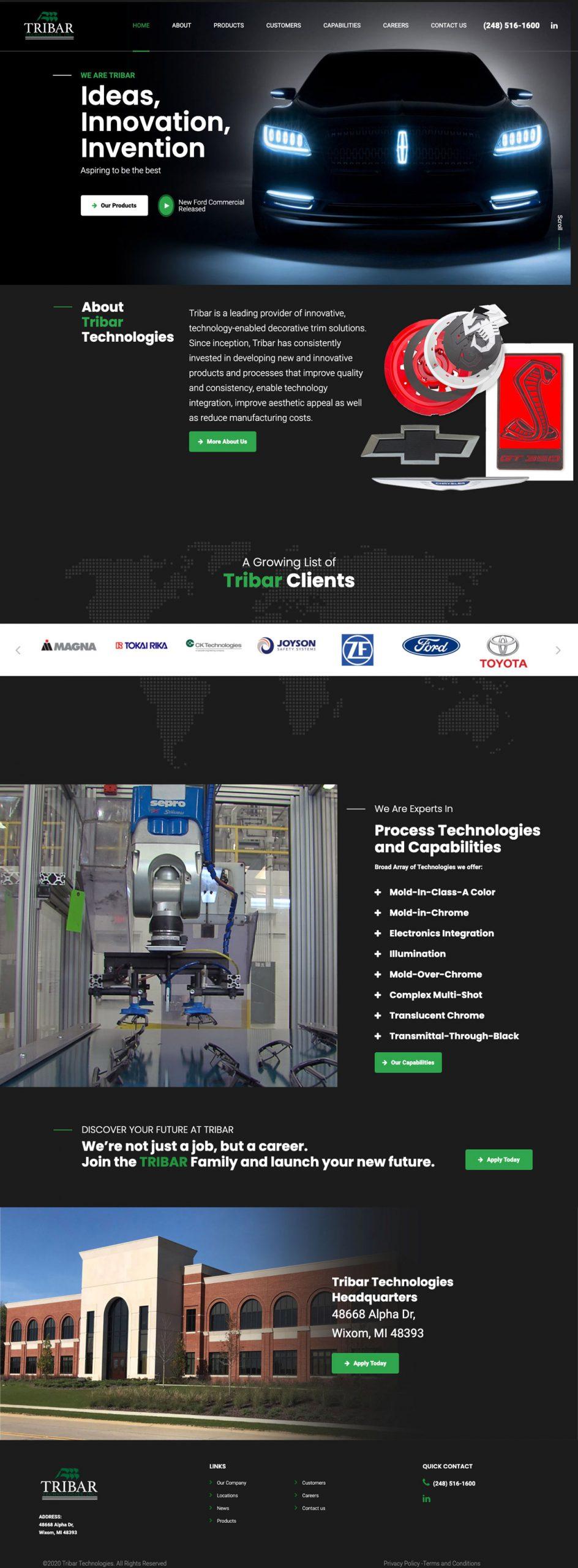 Tribar Technologies Inc